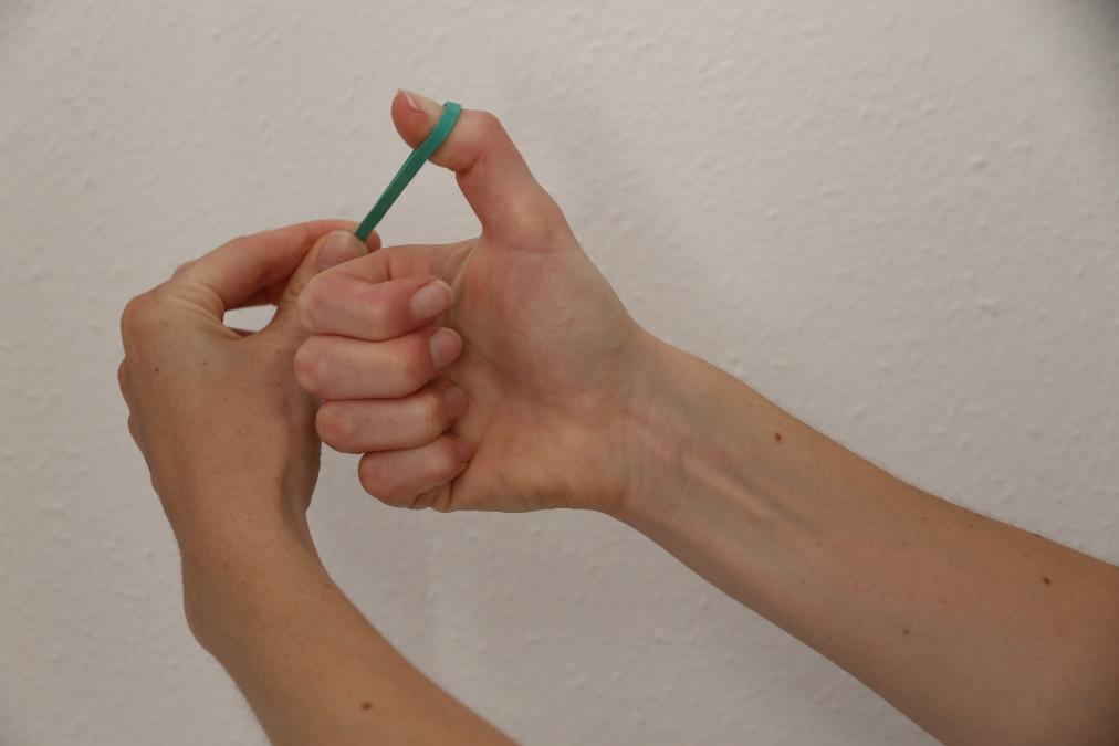 handtherapie bij PMC Fysiotherapie te Beverwijk